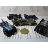 Coleccion 5 Batimovil Escala 1/64 Hot Wheels Batman Carro