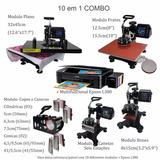 Prensa Termica 10 Em 1 A3 A4 + Impressora Epson L380 220volt