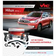 Kit Faro Auxiliar Toyota Hilux 2016 A 2018 Original Vic