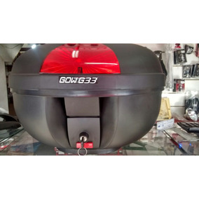 Bau Moto Bauleto Gow G33 33 Litros Motocicleta Porta Objeto