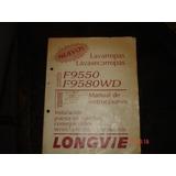 Manual Lavasecarropas Longvie F9550 Y F9580wd-fotocopias-