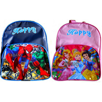 Morral Bolso Escolar Ben10 Princesas Spiderman Niño Lonchera