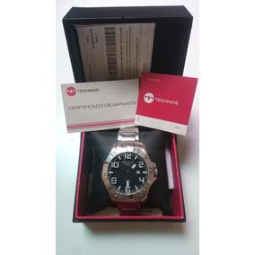 Relógio Technos Masculino Classic Legacy 2315aaz Prata