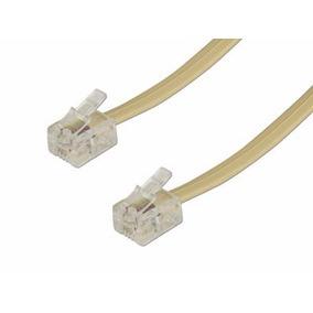 Cable Telefónico Para Extensiones Telmex Axtel De 50 Metros