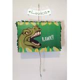 Piñata Dinosaurio Personalizada Cumpleaños