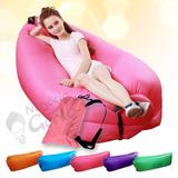 Sofa Cama Inflavel Dormir Praia Camping Lay-bag Portatil