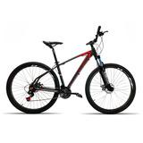 Bicicleta 29 High One 27v Rel Shimano Acera Pt Vermelho T19