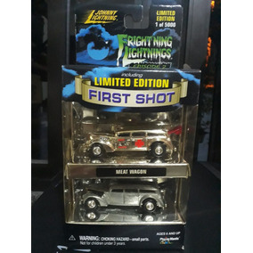 Johnny Lightning Frightning Lightnings - Meat Wagon