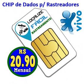 Chip De Dados Para Rastreador E Rastreamento Veicular Online