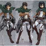 Attack Of Titans Shingeki No Kyojin Mikasa Levi Eren Figma