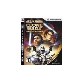 Star Wars The Clone Wars Republic Heroes Ps3 Usado Original