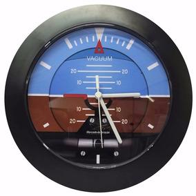 Relógio De Parede Instrumento De Avião