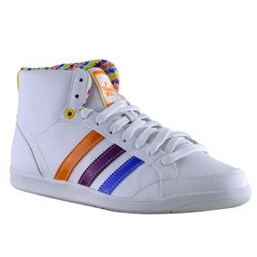 Zapatillas adidas Adi Hoop Mid Mujer Blanco/azul