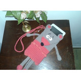 Fundas Tejidas Crochet Para Celulares, Tablet, Netbook