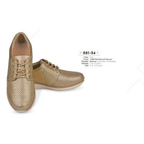 Zapato Color Oro Linea Confort 581-34 Cklass