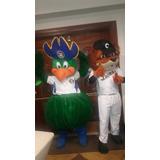 Muñecotes Show Fiestas Leones Del Caracas Magallanes Mascota