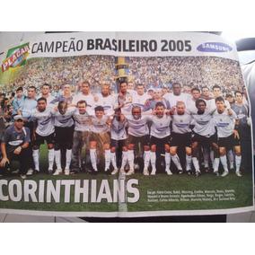 Pôster Corinthians Campeonato Brasileiro 2005