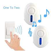 Campainha Sem Fio Wireless Doorbell 32 Toques 100m Residênci