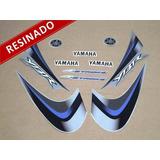 Kit Adesivos Ybr 125 2008 Prata Resinado 10091