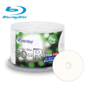 50 Blu Ray Smartbuy 25 Gb Printable (envio Imediato)