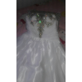 Vestido De Novia Blanco Talla M