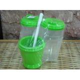 Set Matero Green Con Bombilla -