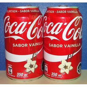 Lata Coca Cola Vainilla (chile - 2016 - 350 Ml) Vacía