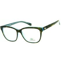 Armação Para Óculos De Grau Lacoste L2723 Retrô Feminina