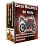 Curso Mecânica De Motos 20 Dvds Vídeo Aula