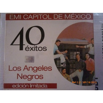 Cd Doble Los Ángeles Negros 40 Éxitos Emi