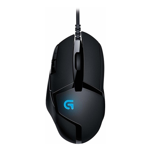 Mouse de juego Logitech Hyperion Fury G Series G402 negro