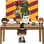 Harry Potter Kit Festa Totens Display Painel Lt020p1