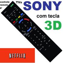 Controle Remoto Para Tvs Sony Compatível Rm-yd078 Rm-yd088