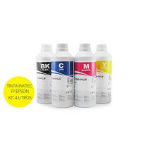 Tinta Corante Inktec Para Bulk Ink Epson - 4 Litros