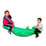 Sube Y Baja Balancin Cocodrilo Para 3 O 4 Niños