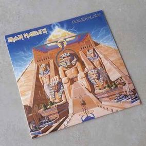 Vinil Lp Iron Maiden Powerslave Remasterizado 180g Lacrado