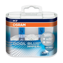 Kit 2x H7 Osram Cool Blue Hyper Plus 5000k Xenon Look