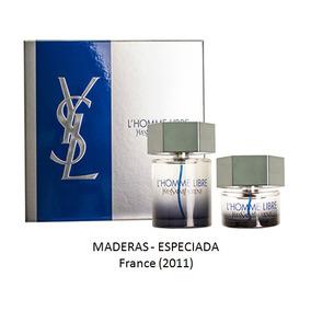 Perfume L´homme Libre Ysl Set-2 (descontinuados Hueta)
