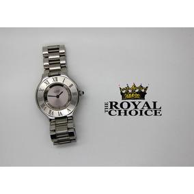 Cartier Must Siglo 21 Acero Large Caballero / Dama Rolex