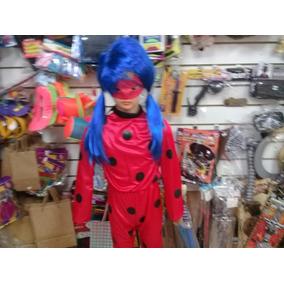 Disfraz Ladybug Original Con Peluca. Cotillon Chirimbolos