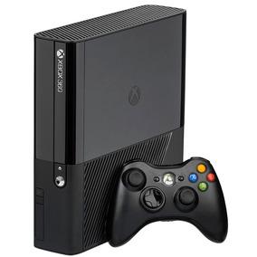 Xbox 360 Super Slim Bloqueado Com 2 Jogos Originais.