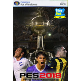 Pes 2018 Copa Libertadores + Uruguayo Fabropatch Pc Digital