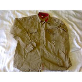Camisa Tommy Hilfiguer Vintage Tipo Militar