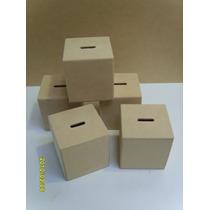 Alcancía Fibrofacil-mdf-listas Para Pintar-souvenirs-$23