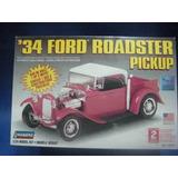 Ford 1934 Pick Up 3 En 1 Lindberg Esc 1/24 Modelo Nuevo