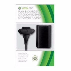 Kit Carregador E Bateria Para Controle Xbox 360 58000mah