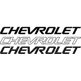 Adesivo Chevrolet Para Tampa Da S10 E Pickup Corsa