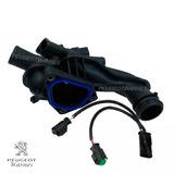 Caja Salida Agua + Ramal Elec Orig Peugeot 408 Sport 1.6 Thp