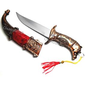 Faca Punhal, Adaga, Excelente Para Decorar Tam. 22cm Ky-5189