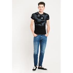 Jeans Slim Stretch Tiro Bajo